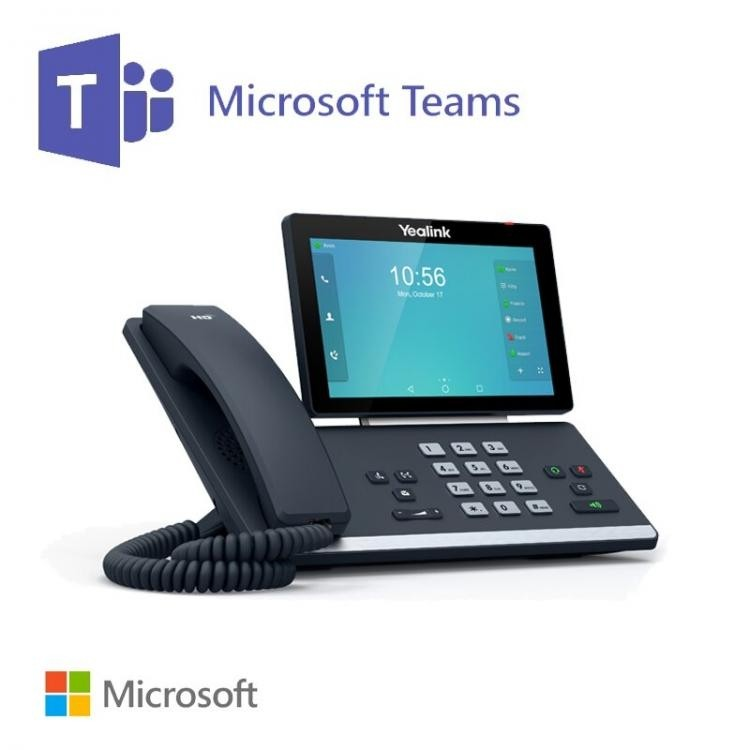 Yealink T58A Smart Business HD IP Phone | Standard VoIP | Skype for  Business Edition | Teams Edition