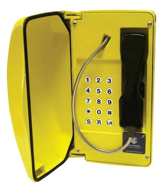 GAI-Tronics Titan SIP Yellow Help Point Box - 15 Button