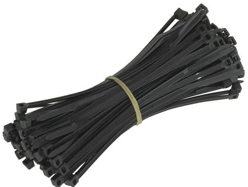 Standard Cable Ties (100 Pack) - 140mm Length - Black