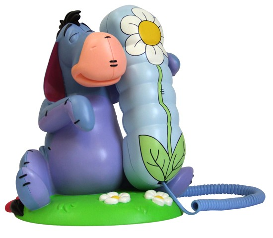 Lazerbuilt Disney Eeyore Telephone