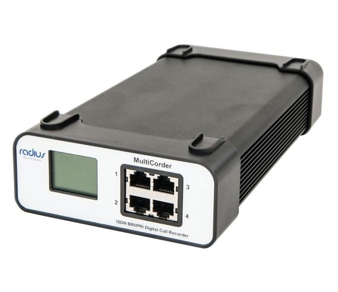 Radius CR7040 4 Channel ISDN2 Line Recorder
