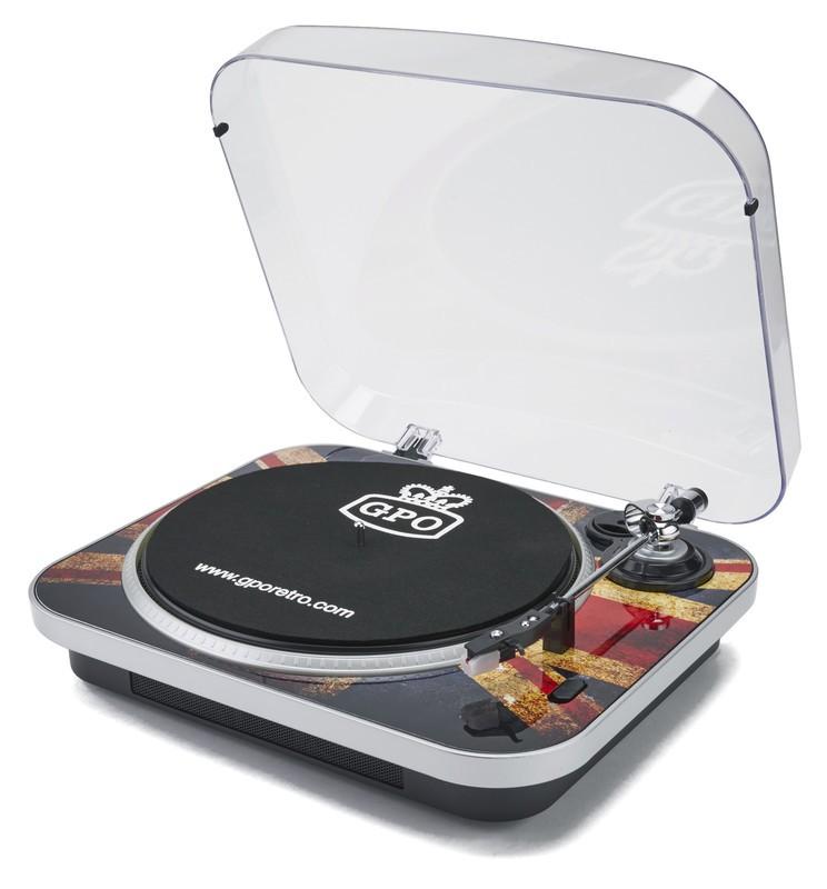 GPO Jam Retro Record Player