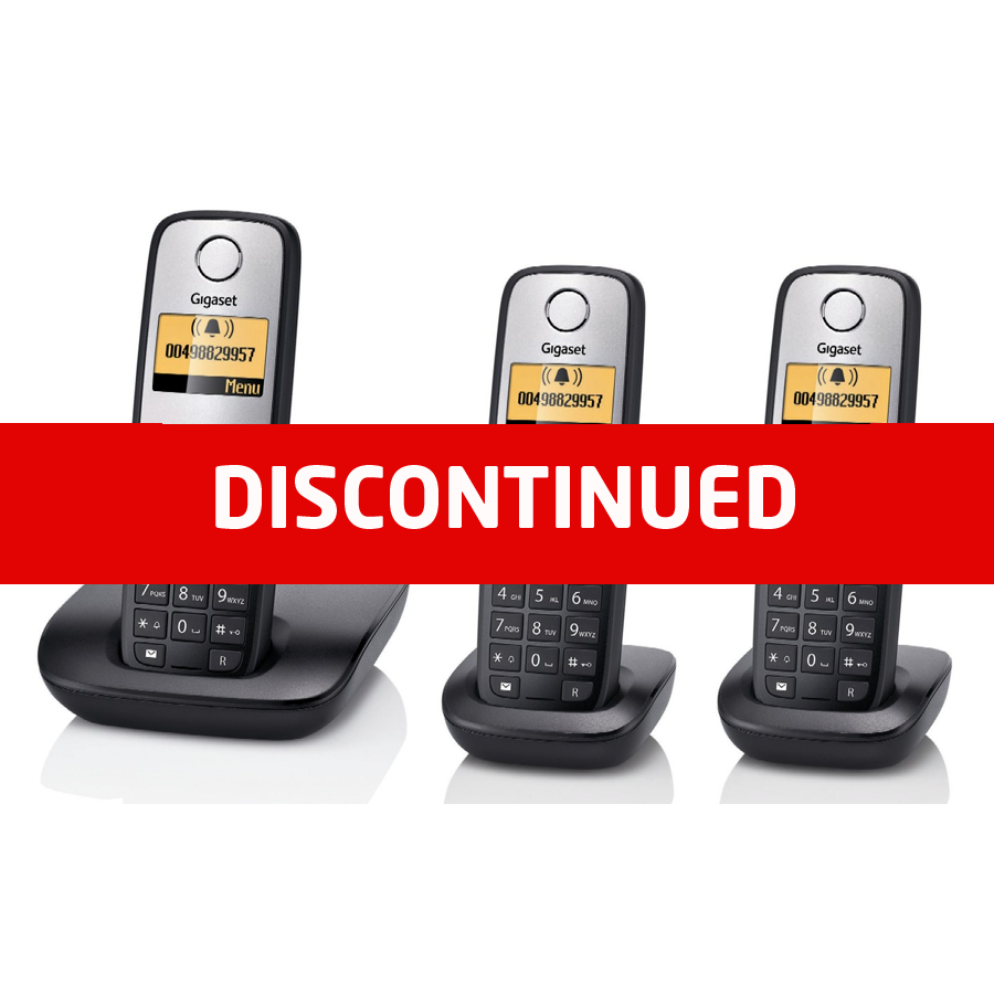 Siemens Gigaset A400 DECT Cordless Phone - Triple Pack