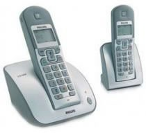 PHILIPS CD1352 Twin DECT Cordless Phone with Answering Machine
