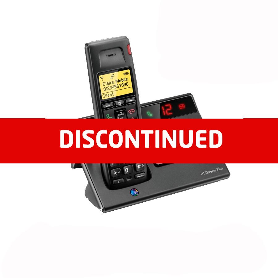 BT Diverse 7150 DECT Cordless Phone