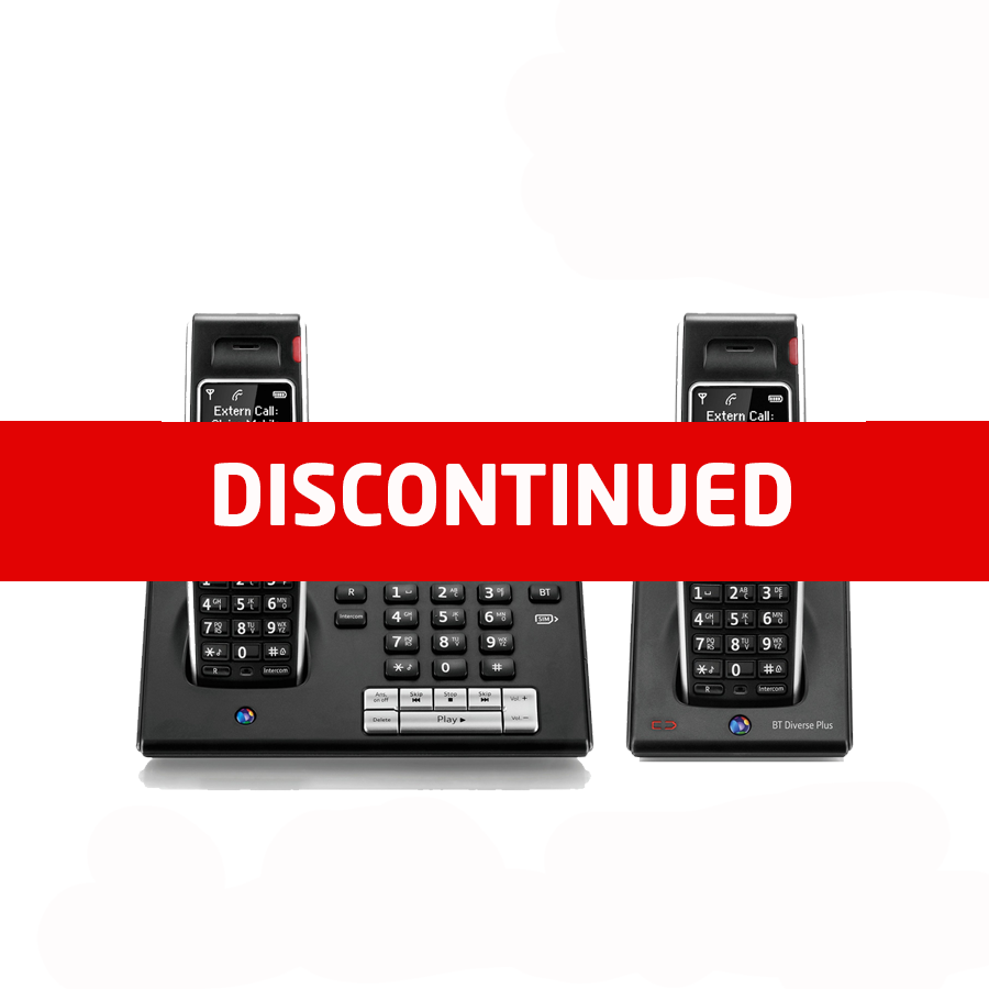 BT Diverse 7460 DECT Cordless Phone - Twin Pack