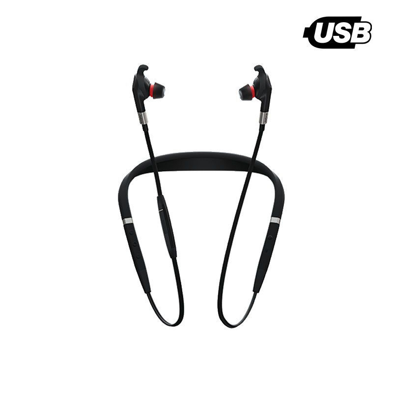 Walkabout Workplace Flex Wireless Ear Buds with Active Noise Cancellation for PC & Mobile