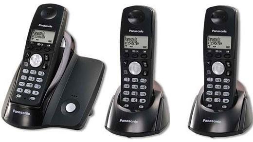 Panasonic KX-TG203 Triple DECT Cordless Phone