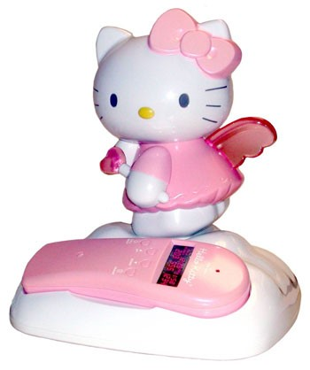 Lazerbuilt Animated Hello Kitty Phone
