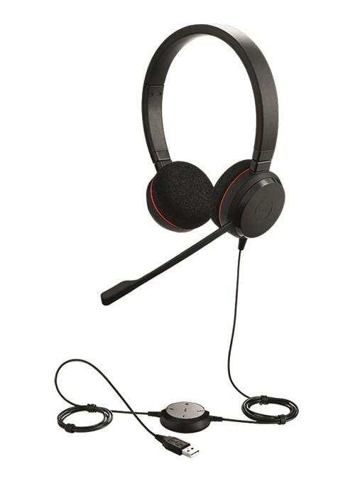 Jabra EVOLVE 20 - Stereo USB Headset