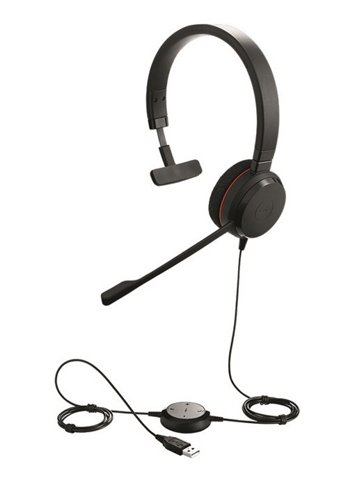Jabra EVOLVE 20 - Mono USB Headset