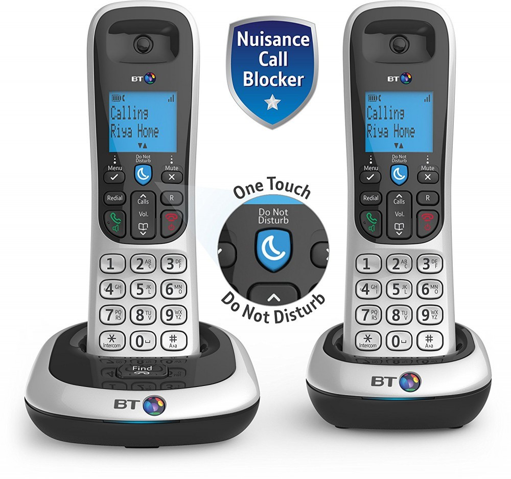 BT 2200 DECT Cordless Phone With Nuisance Call Blocker - Twin