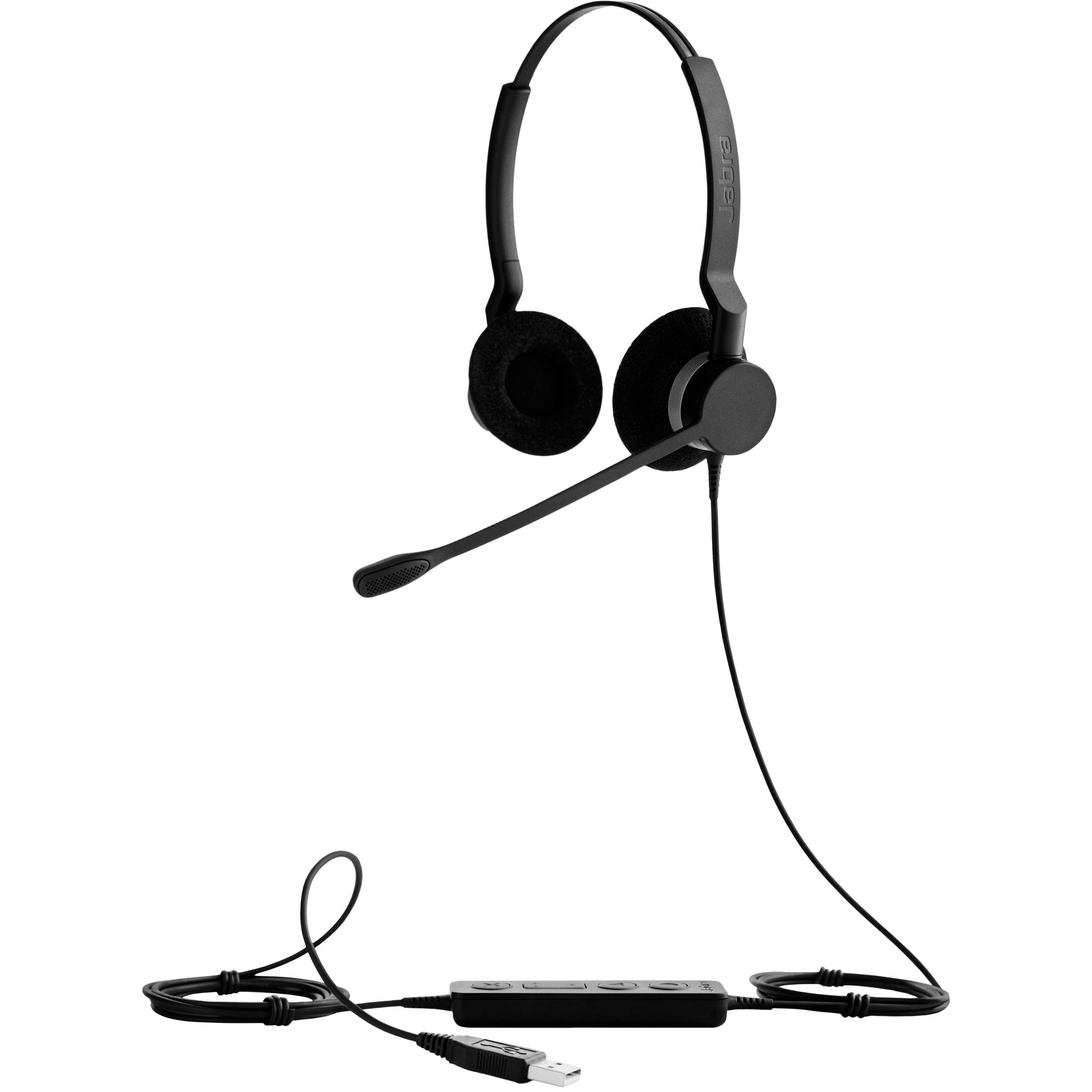 Jabra Biz 2300 USB UC Duo Office Headset