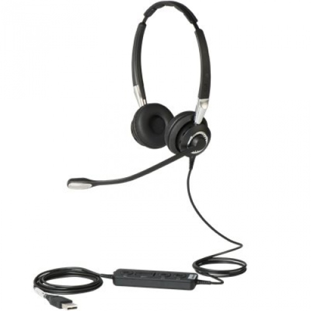 Jabra Biz 2400 II Duo USB MS Headset (CC)