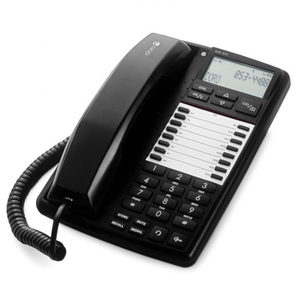 DORO AUB 300i Business Telephone - Black
