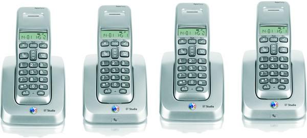 BT Studio 3100 Quad DECT Cordless Phone