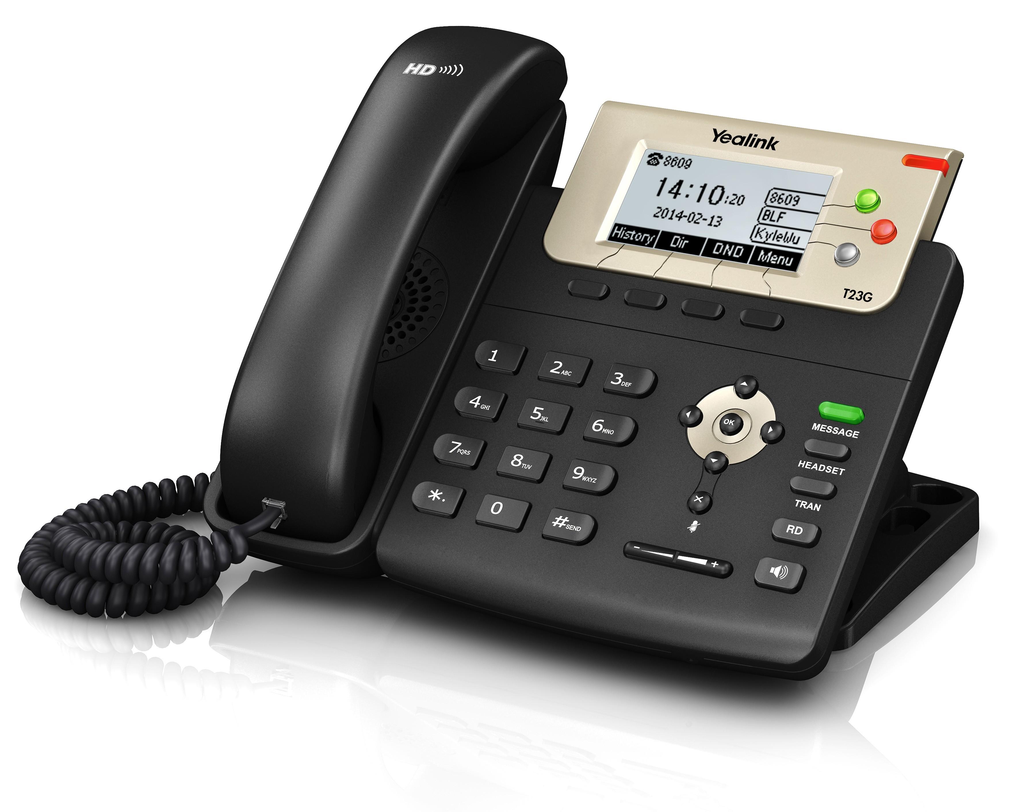 Yealink SIP T23G VoIP Telephone