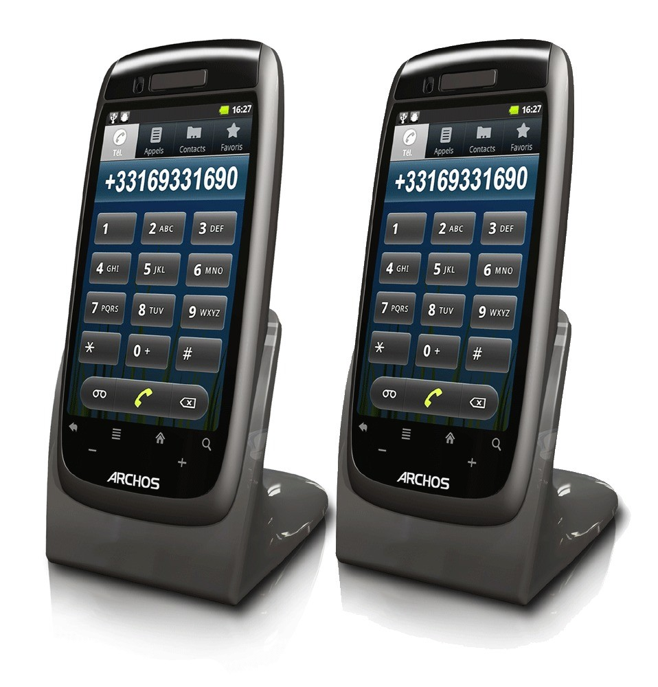 Archos 35 Smart DECT Android OS Home Phone - Twin