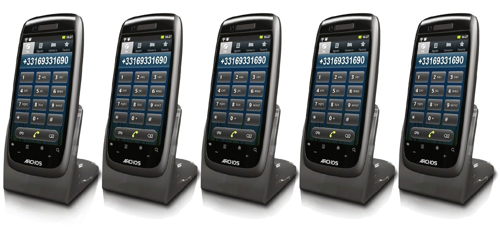 Archos 35 Smart DECT Android OS Home Phone - Quint