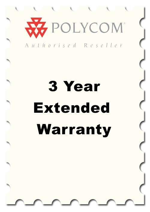 Three Year Extended Warranty for Polycom Soundstation VTX Models