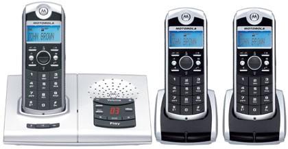 Motorola 4067 DECT Trio with Answering Machine