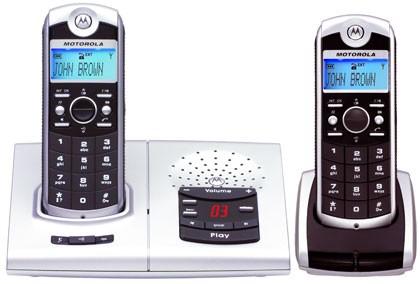Motorola 4067 Twin with Answering Machine