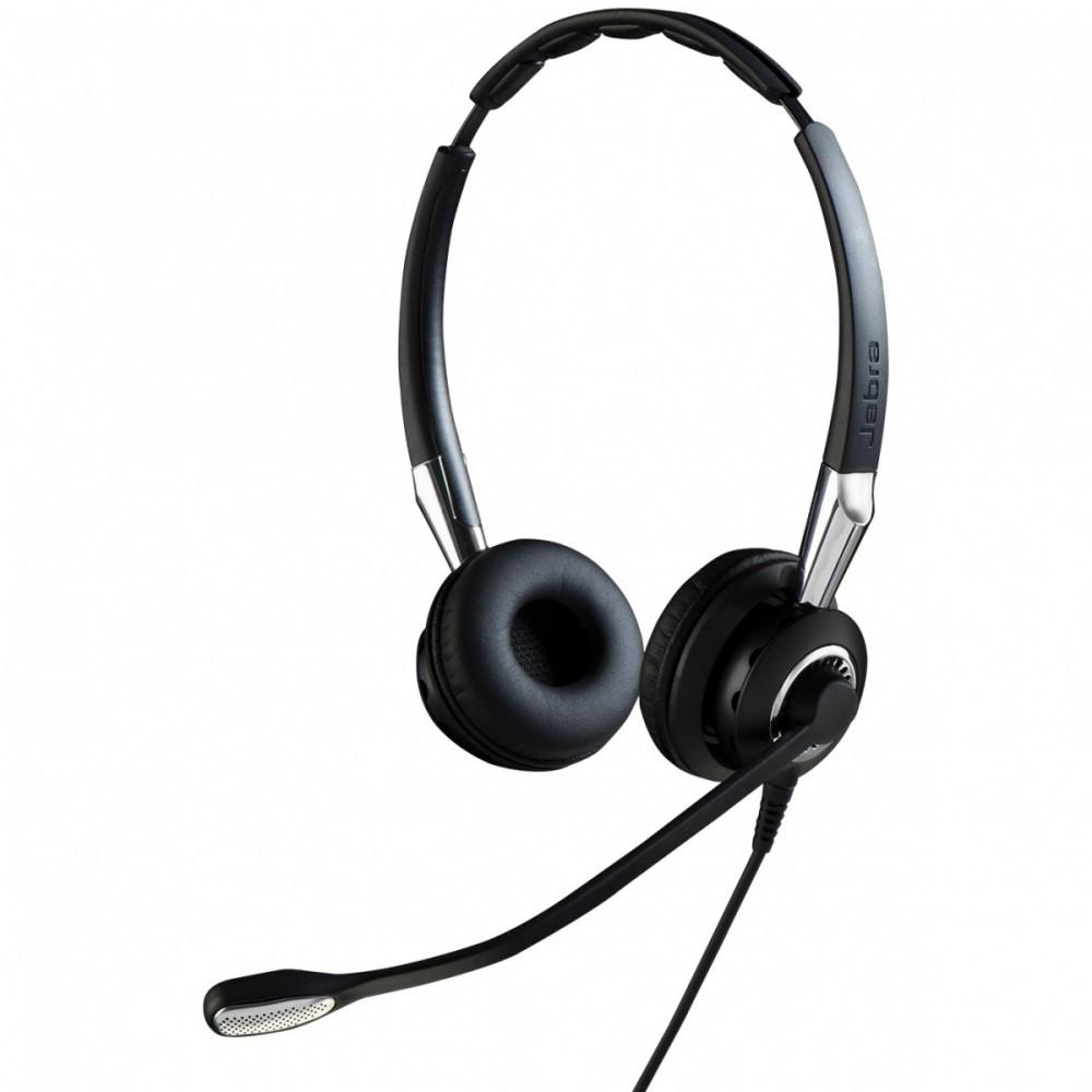 Jabra Biz 2400 II QD Duo Balanced Noise Cancelling Headset