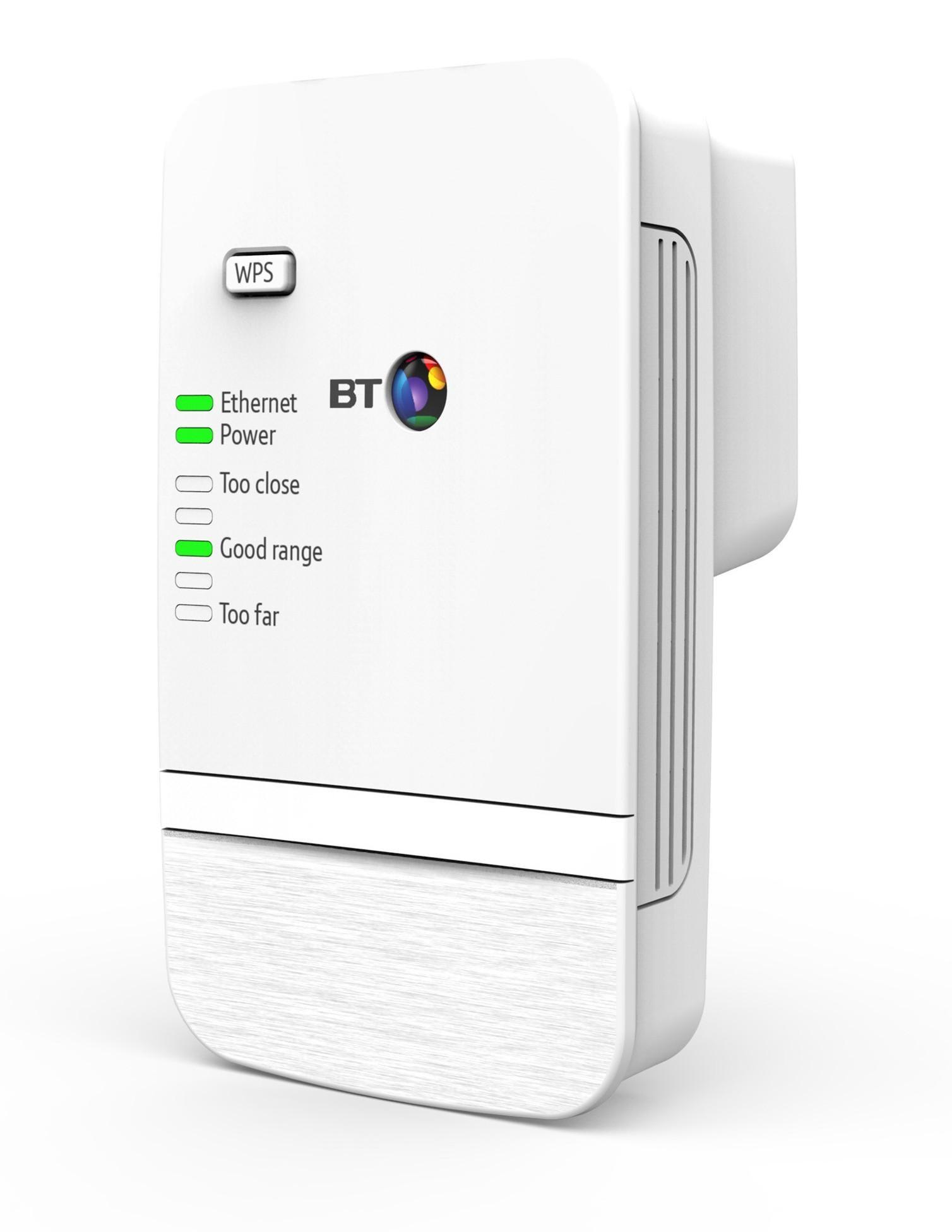 BT Wi-Fi Range Extender 300