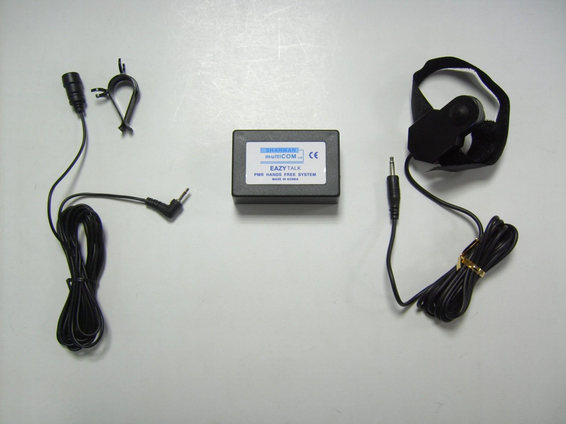 Eazytalk PMR Hands-free System Gear stick Mounted PTT