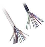 CW1308 6 Pair White Telephone Cable Per 100m Roll