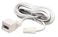 BT to BT 6 Way 10m Telephone Extension Lead