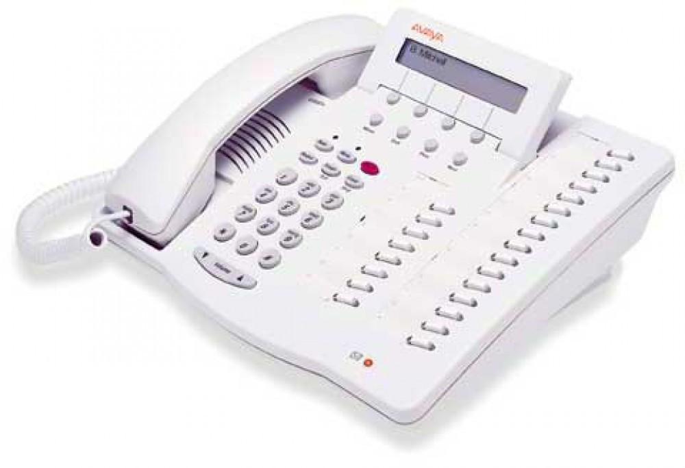 Avaya 6424D+M Handset - White