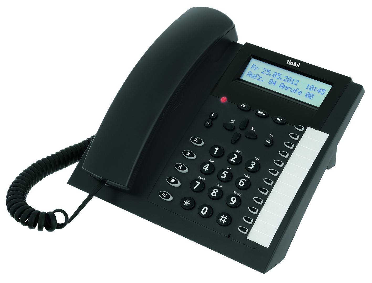 Tiptel 2030 ISDN Business Telephone with Answering Machine