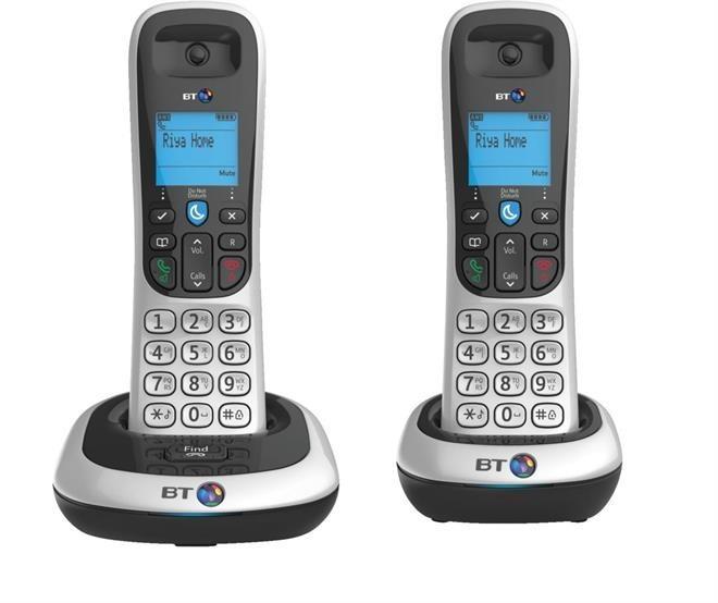 BT 2100 DECT Cordless Phones - Double