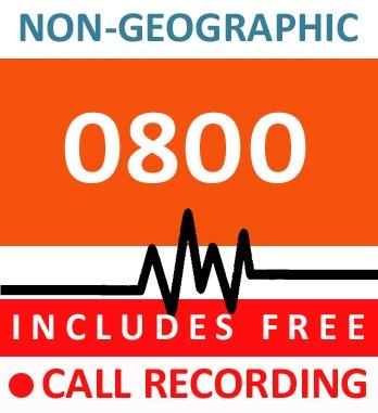 0800 - Bronze Telephone Number