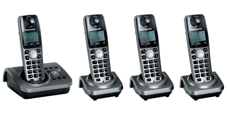 Panasonic KX-TG7234EM Quad With Answerphone