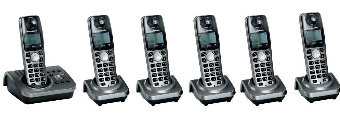 Panasonic KX-TG7236EM Sextet With Answerphone