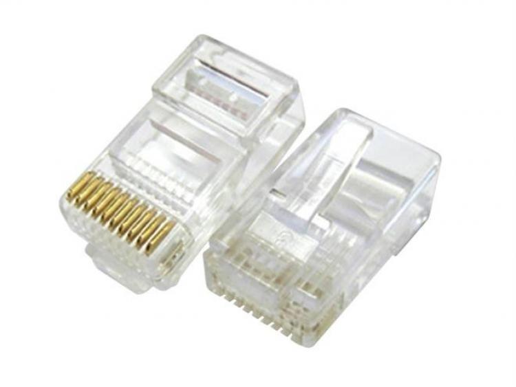 RJ45 Crimp Style Plug (100 Pack)