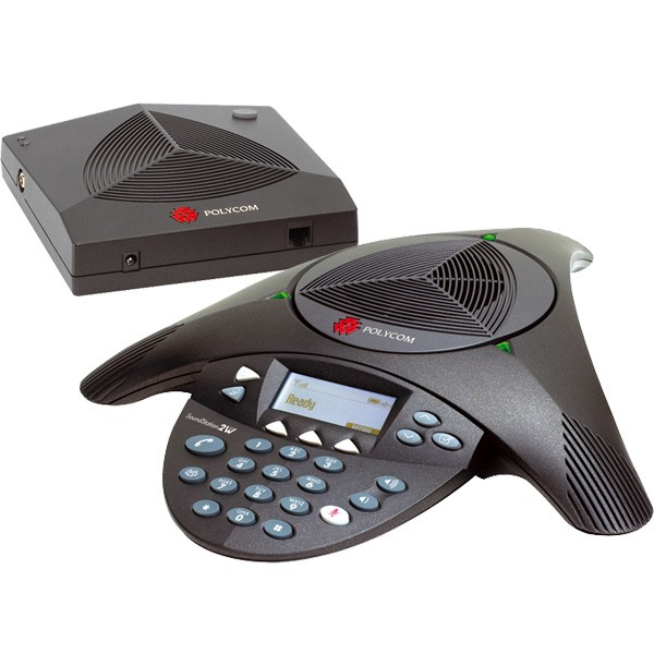 Polycom Soundstation 2W Wireless Audio Conferencing Phone