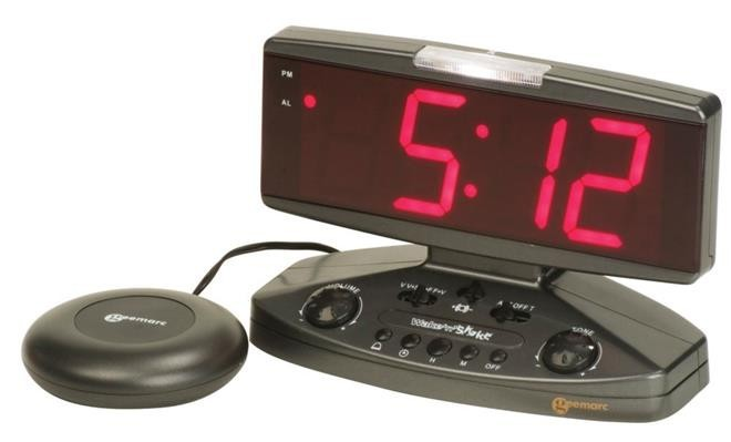 Geemarc Wake 'n' Shake Alarm Clock