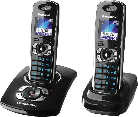 Panasonic  KX-TG8322 DECT Twin Cordless Phone with Answering Machine