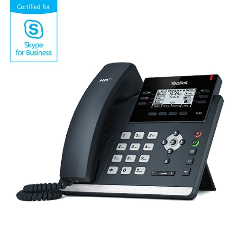 Yealink T42S IP Phone (Skype for Business Edition)