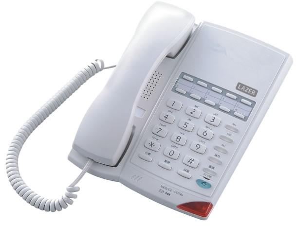 Lazerbuilt 906K Prestige Business Phone - Light Grey