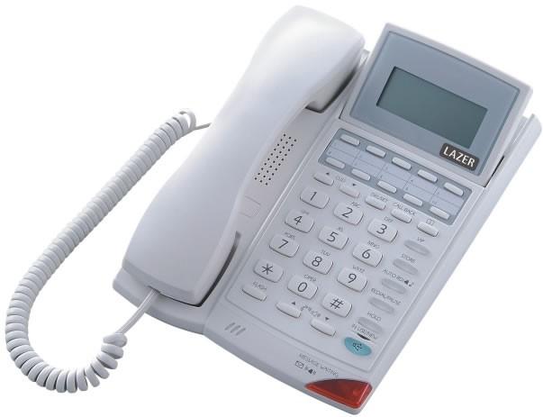 Lazer 907K Prestige Business Phone - Light Grey
