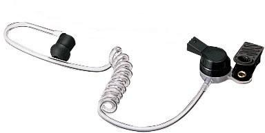 High grade modular acoustic tube style earpiece for TTJ-5200/ASA-2000