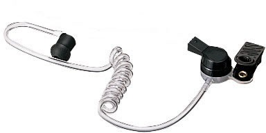 High grade dual acoustic tube style earpiece for TTJ-5200/ASA-2000
