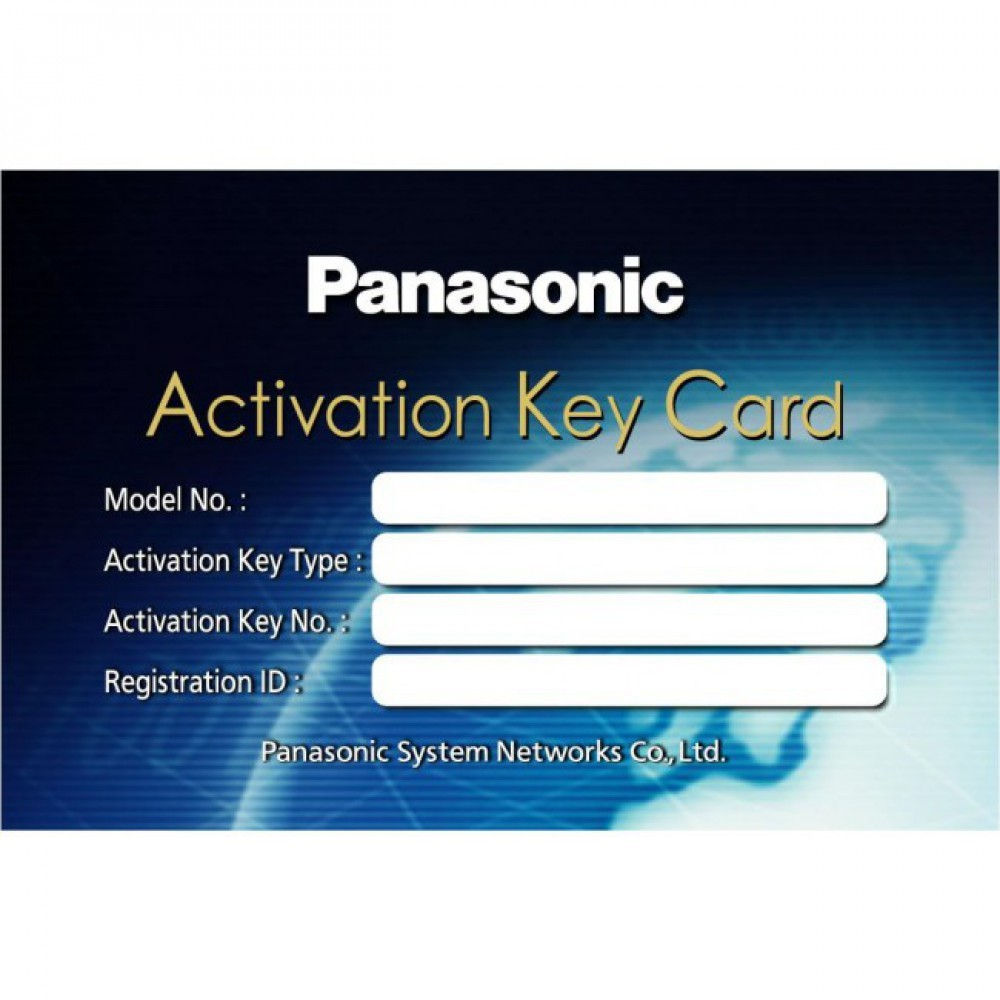 panasonic  activation key files