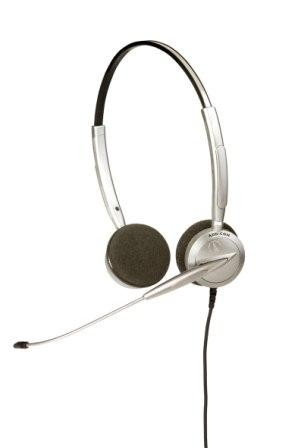 ADD-COM ADD110 Quantum Pro Binaural Office Headset (Including connection lead)