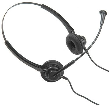 Dasan DH07TB Binaural Noise Cancelling Headset (Including FREE connection lead)