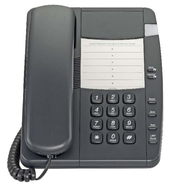 Pocket UK Phone - NR200HPUK - Black